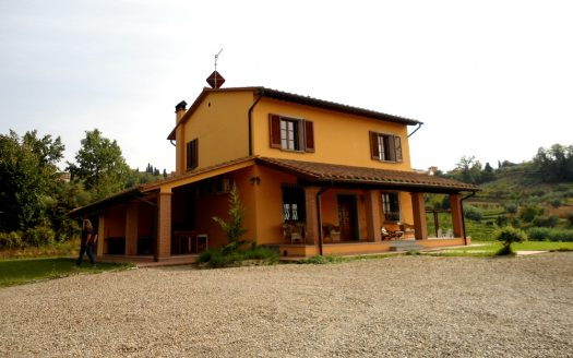 detached country home for sale terricciola
