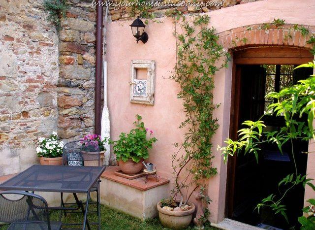 il piccolo giardino del terratetto di calci
