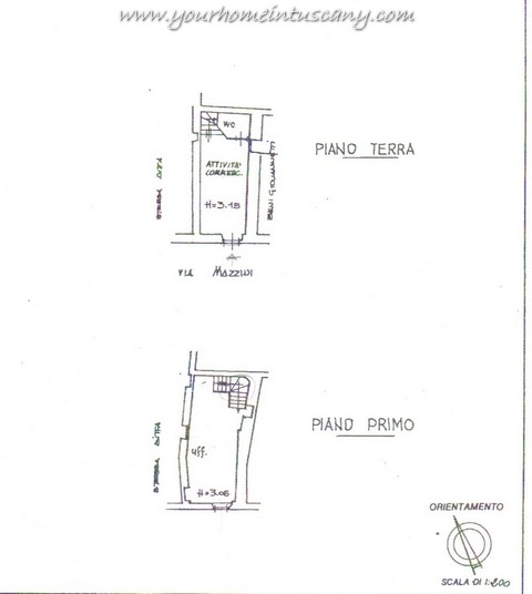 Shop/Office for sale close to San Giuliano Terme, 80 square meters