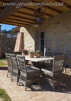 a patio for al fresco dinings