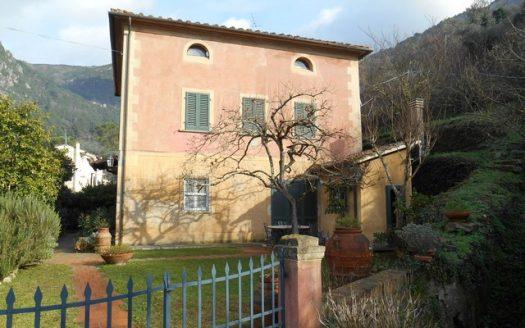 la villa ottocentesca