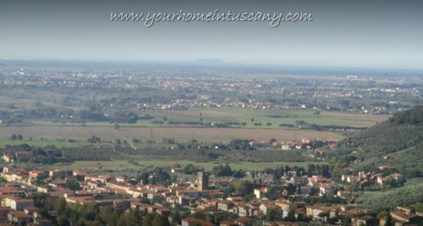 views of the holiday home in calci