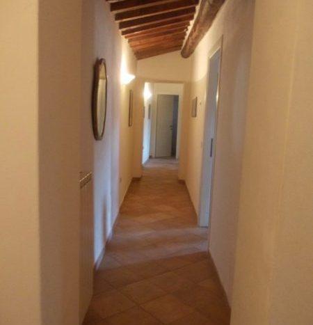 il corridoio al piano primo