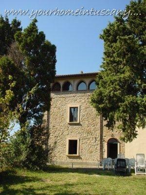 the main facade