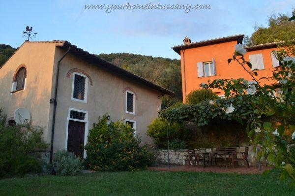 il complesso in vendita a San Giuliano Terme