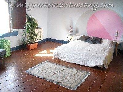 una delle camere disponibili