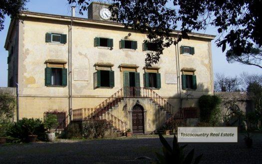villa storica vendita colline di livorno